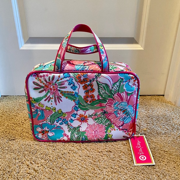 Lilly Pulitzer for Target Handbags - NWT Lilly Pulitzer for Target Makeup Travel Bag